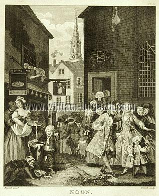 William Hogarth, Noon