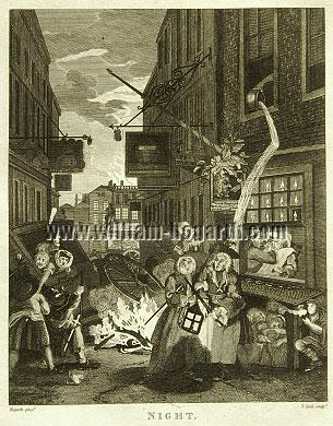 William Hogarth, Spring-Night