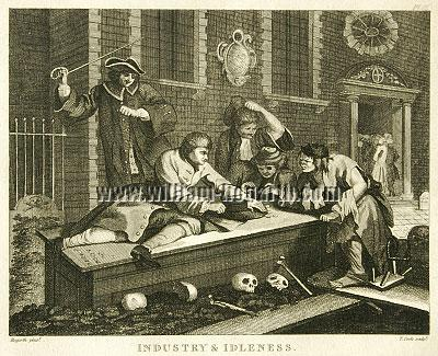 William Hogarth, Industry + Idleness III