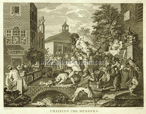 William Hogarth, Election IV