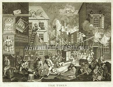William Hogarth, The Times I (Cook small)