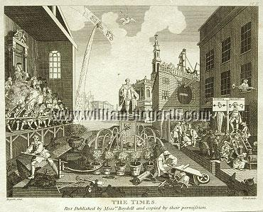 William Hogarth, The Times II (Cook small)