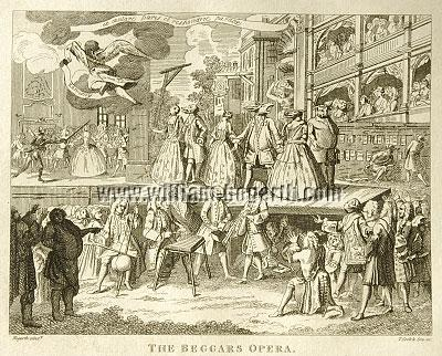 William Hogarth, Beggars Opera (Cook small)