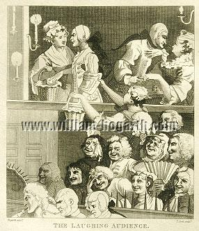 William Hogarth, Laughing Audience (Cook small)