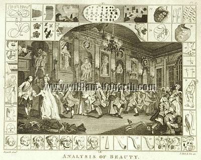 William Hogarth, Country Dance (Analysis of Beauty II)