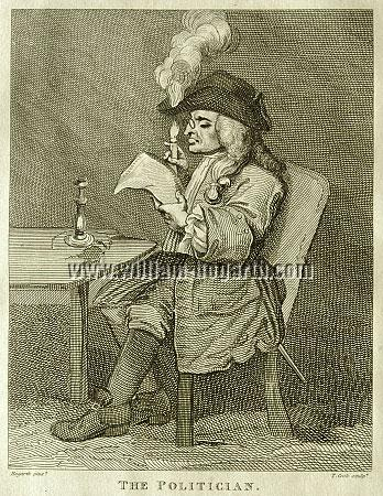 William Hogarth / Der Politiker
