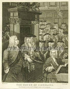 William Hogarth, House of Commons (Cook small)