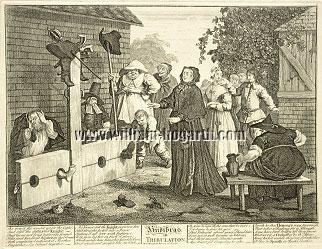 William Hogarth, Hudibras in Tribulation (Hudibras VI)