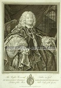 William Hogarth, Benjamin Hoadly Lord Bishop of Winchester