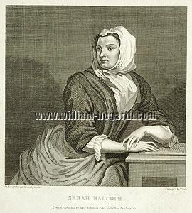 William Hogarth, Sarah Malcolm