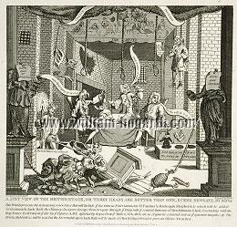 William Hogarth, Just View of the British Stage