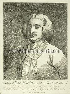 William Hogarth, Henry Fox, Lord Holland